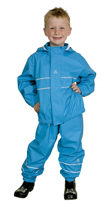 Elka Childrens Waterproof Suit in Turquoise