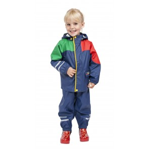 Elka Childrens Waterproof Suit Multi-Colour
