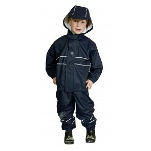 Elka Childrens Waterproof Suit in Navy
