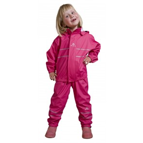 Elka Childrens Waterproof Suit in Pink