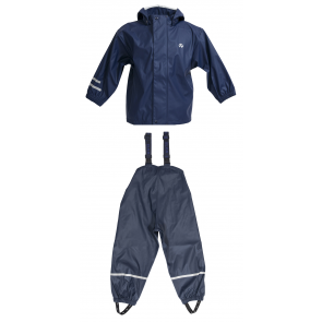 Navy Elka two piece children's waterproof set